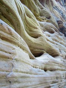 Erosion in sandstone. Photo credit: T